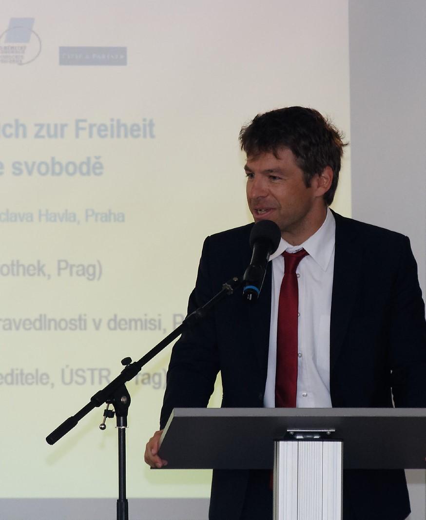 Justizminister Robert Pelikán