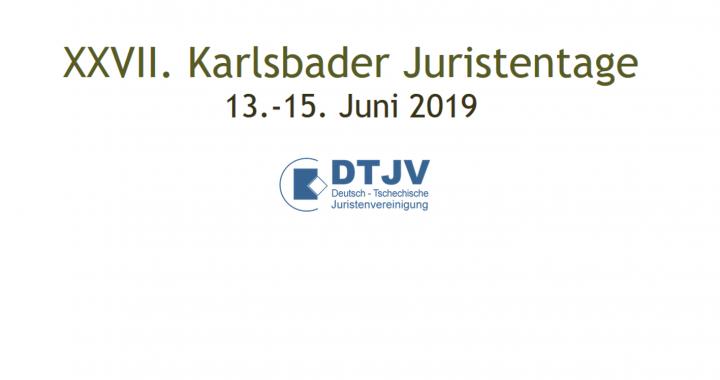 Karlsbader Juristentage - DTJV